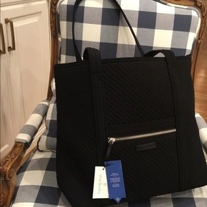 Vera Bradley large black purse new
